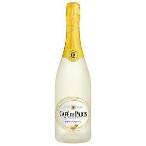 スパークリング カフェドパリ グレープフルーツ 750ml sparkling wine|yo-sake