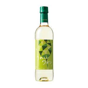 サッポロ うれしいワイン 白 [PET] 720ml x 12本[ケース販売][サッポロ/日本/岡山...