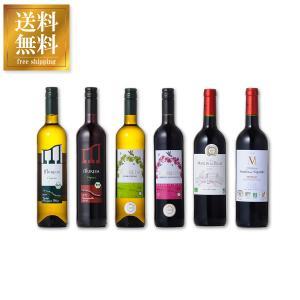 ワインセット 自然派オーガニック ワイン 6本セット 送料無料※(本州のみ)  あすつく|yo-sake