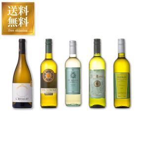 ワインセット 金賞受賞入り デイリー白ワイン 5本セット 送料無料※(本州のみ) あすつく (ケース販売)|yo-sake