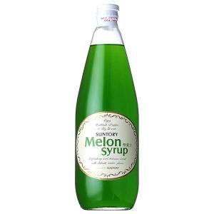 サントリー メロンシロップ 780ml 送料無料※(本州のみ)|yo-sake