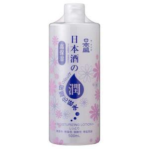 日本盛 日本酒のたっぷり保湿化粧水 しっとり 500ml|yo-sake