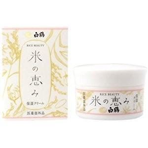 白鶴 ライスビューティー 米の恵み 保湿クリーム 48g|yo-sake