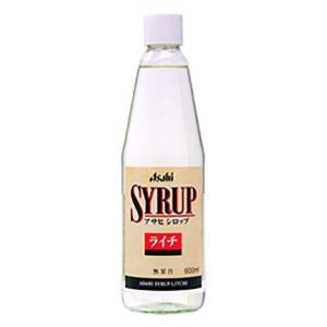 アサヒ シロップ ライチ 600ml|yo-sake