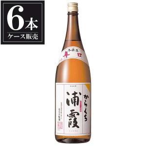 浦霞 本醸造 からくち 1.8L 1800ml x 6本 (ケース販売) (浦霞醸造/宮城県/岡永)|yo-sake