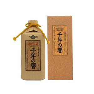 今帰仁 千年の響 古酒 25度 720ml x 12本 (ケース販売)(今帰仁酒造所/泡盛)|yo-sake
