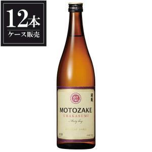 浦霞 MOTOZAKE純米 720ml x 12本 (ケース販売) (浦霞醸造/宮城県/岡永)|yo-sake