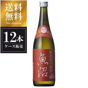 白瀧 純米 濃醇 魚沼 720ml x 12本 (ケース販売) 送料無料(本州のみ) (白瀧酒造/新潟県/岡永)|yo-sake