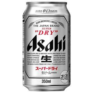 アサヒ スーパードライ 350ml x 24本 (缶) あすつく (国産/ビール/缶/ALC 5%)|yo-sake