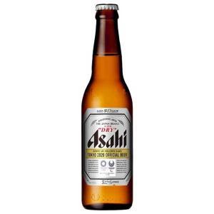 アサヒ スーパードライ 小びん334ml x 30本 (瓶) 送料無料※(本州のみ) (国産/ビール/ALC 5%)|yo-sake