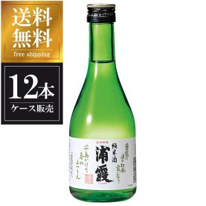 浦霞 純米酒 300ml x 12本 (ケース販売) 送料無料(本州のみ) (浦霞醸造/宮城県/岡永)|yo-sake