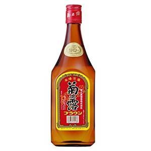 菊之露 ブラウン 30度 720ml x 12本 (ケース販売)(菊之露酒造/泡盛) 送料無料(本州のみ)|yo-sake