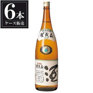 賀茂泉 純米吟醸 緑泉 本仕込 1.8L 1800ml x 6本 (ケース販売) (賀茂泉酒造/広島県/岡永)|yo-sake