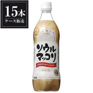 サントリー ソウル マッコリ ペット 750ml x 15本 送料無料(本州のみ) (ケース販売)|yo-sake