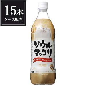 サントリー ソウル マッコリ ペット 750ml x 15本 (ケース販売)|yo-sake