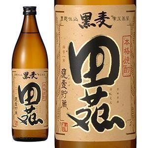 田苑 麦焼酎 黒麹 甕壷貯蔵 25度 900ml (田苑酒造/鹿児島県)|yo-sake