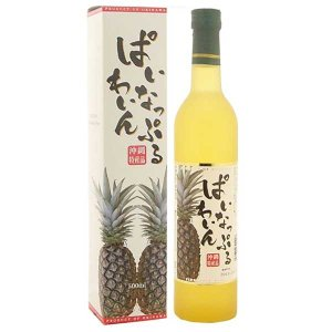 八重泉 パイナップルワイン 13度 500ml [八重泉 / 泡盛]|yo-sake