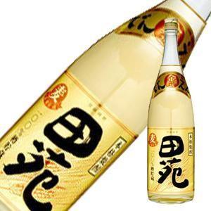 田苑 麦焼酎 金ラベル 25度 1.8L 1800ml (田苑酒造/鹿児島県)|yo-sake