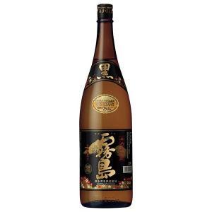 黒霧島 芋焼酎 25度 1.8L 1800ml 瓶 あすつく [霧島酒造/宮崎県]|yo-sake