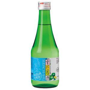 鳴門鯛 すだち酒 300ml x 24本[ケース販売] 送料無料※(本州のみ) [OKN/本家松浦酒...