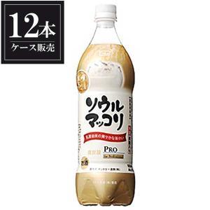 サントリー ソウル マッコリ ペット 1L 1000ml x 12本 送料無料(本州のみ) (ケース販売)|yo-sake