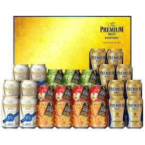 お中元 ビール PF50P サントリー ザ プレミアム モルツ 夏の限定ファミリーセット (中元期限定) [同商品2点まで同梱可] 御中元 ギフト yo-sake