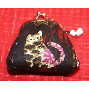 【猫】がま口小銭入れ(財布)|yo-yamato