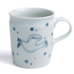 マグカップ・ハト・植山昌昭《コーヒーカップ・7.6cm・180ml》|yobi