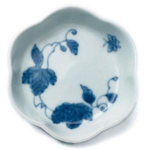 輪花豆皿・つた・植山昌昭《豆皿・8.0cm》|yobi