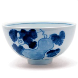 飯碗・ふくべ紋・植山昌昭《飯碗・ご飯茶碗・12.2cm》 yobi