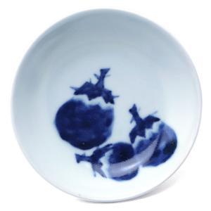 3寸丸茄子文皿・植山昌昭《小皿・10.5cm》|yobi