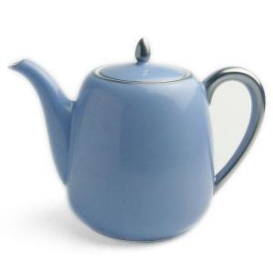 磁器:トワエモア ブルー ティーポット・大倉陶園《ティーポット》|yobi