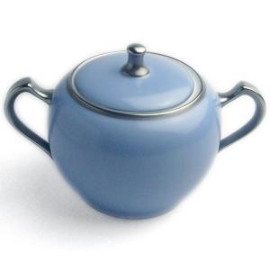 トワエモア ブルー シュガーポット・大倉陶園|yobi