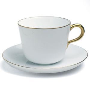 金線モーニング碗皿・大倉陶園《コーヒーカップ・ゴールドライン・ティーカップ》|yobi