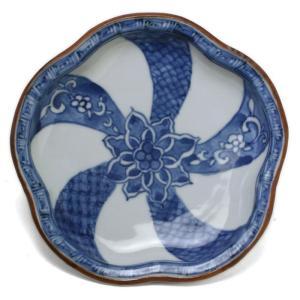 染付:祥瑞捻文梅形皿・須田菁華《小皿・15.2cm》|yobi