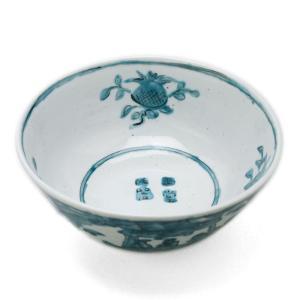 九谷焼:青呉須赤壁賦鉢・須田菁華《大鉢・盛鉢・20.5cm》|yobi