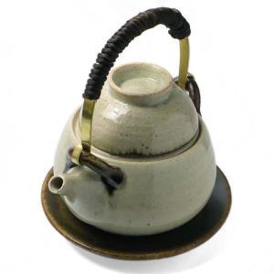 《予約販売》灰釉土瓶蒸・杉本寿樹《土瓶蒸:300ml》 yobi