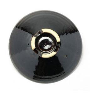 伊賀焼:黒鍋 尺1用 蓋・土楽《土鍋》|yobi