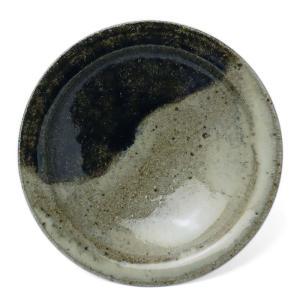 唐津焼:朝鮮唐津四寸五分皿・中村恵子《小皿・14.0cm》|yobi