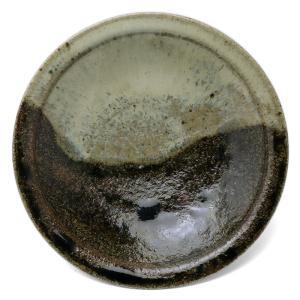 唐津焼:朝鮮唐津五寸五分皿・中村恵子《中皿・5.5寸・16.0cm》|yobi