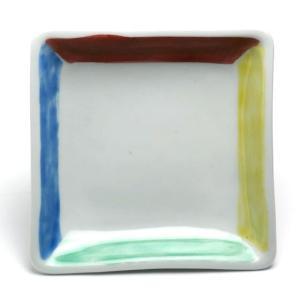 《定期販売》四色角小皿No.2・古川章蔵《小皿・11.0cm》|yobi