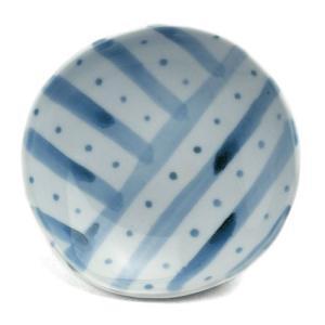 《定期販売》染付丸小皿・古川章蔵《小皿・10.5cm》|yobi