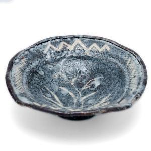 志野焼:鼠志野芦文向付・瀧川恵美子《小鉢・15.5cm》|yobi