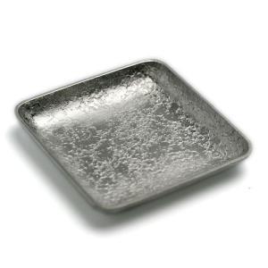 錫器・錫豆皿・角・ゆり工房《豆皿・4.5cm》|yobi