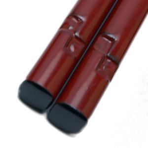 【現品限り!】鎌倉彫箸・乾口塗・四角・石渡清和|yobi
