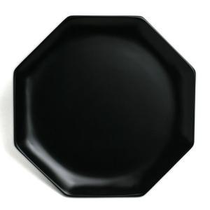 漆器:黒八角皿・守田漆器《漆器・銘々皿・菓子皿・ケーキ皿・取り皿・17.0cm》 yobi