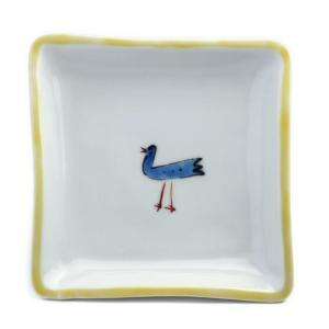 《定期販売》鳥角小皿・古川章蔵《小皿・11.0cm》|yobi