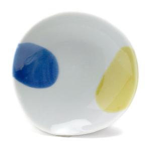 《定期販売》二色流し丸小皿・古川章蔵《小皿・10.5cm》|yobi