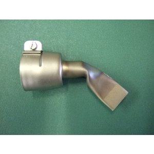 ライスター 熱風機溶接機 20mm平型ノズル 新発売 45度曲げ改造ノズル トリアック用 在庫あり 送料無料|yodogawa