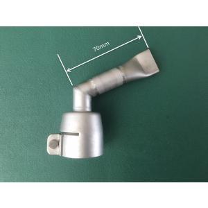 ライスター純正 20mm平型 垂直曲げ改造ノズル + 20mm延長(受注生産品)トリアック用 送料無料 熱風機 溶接機|yodogawa